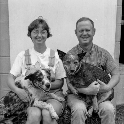 Lacey and Little Joe and Pooches